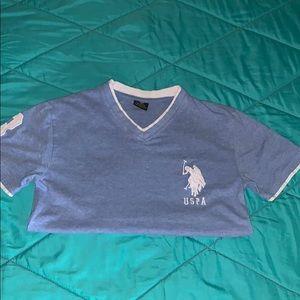 5d39361b U.S. Polo Assn. U.s polo assn v-neck shirt size M